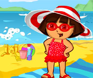 Dora the Explorer Beach Dress Up