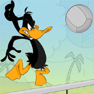 Daffy Duck Volleyball
