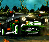 Halloween Graveyard Racing