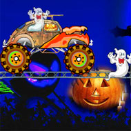 Halloween Monster Car