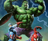 Hulk with Friends