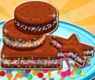Ice Cream Sandwiches and Candy