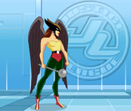 Justice League Hawkgirl Training Academy