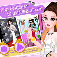 Pop Princess Wardrobe Magic