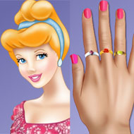 Princess Cinderella Nails Makeover