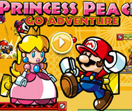 Princess Peach Go Adventures