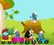Smurfs Fun Race