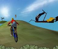 Stunt Bike Island