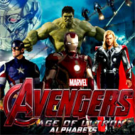 Avengers Age of Ultron Alphabets