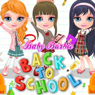 Baby Barbie Back to School