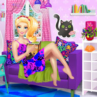 Barbie's Perfect Reading Corner