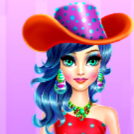 Candy Girl Make Up and Dressup