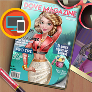 Dove Magazine Dolly Dress Up