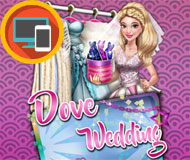 Dove Wedding Dolly Dress Up