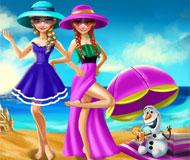 Elsa and Anna Summer Break