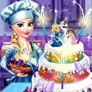 Elsa's Wedding Cake