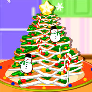 Gingerbread Cookie Christmas Tree