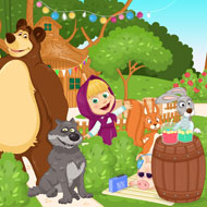 Masha and the Bear Summer Fun