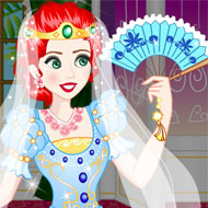 Merida Wedding Dress Up