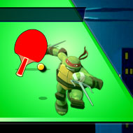 Ninja Turtles Table Tennis