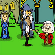 Obama Lord of the Rings