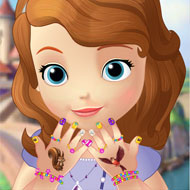 Sofia the First Great Manicure