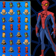 Spiderman Icon Matching