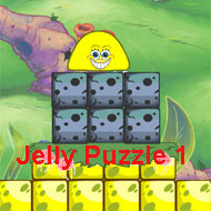 Spongebob Squarepants Jelly Puzzle