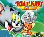 Tom and Jerry Jewel Match
