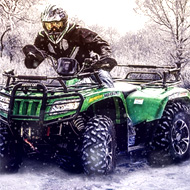 4x4 Winter ATV