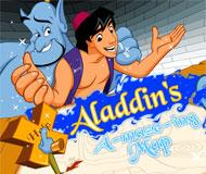 Aladdin's Maze Map