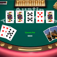 Virtual Texas Hold'em Poker