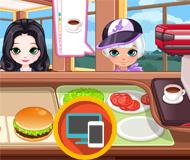 Burger & Hotdog Stand