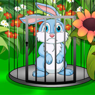 Cute Easter Bunny Escape
