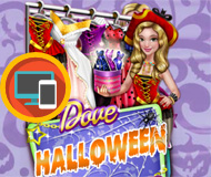 Dove Halloween Dolly Dress Up