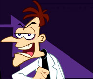 Phineas and Ferb in Down Perry-Scope