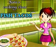 Sara's Cooking Class Fish Tacos