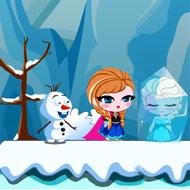 Frozen Anna Save Elsa 2
