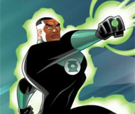 Green Lantern Space Escape
