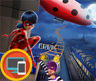 Ladybug Hero vs Villain
