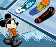 Mickey Mouse Snowboard