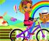 Mina pe Bicicleta