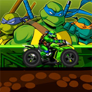 Ninja Turtle Dirt Bike
