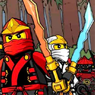 Ninjago Monsters Forest