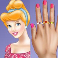 Princess Cinderella Nails Makeover