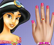 Princess Jasmine Nails Makeover