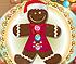 Santa's Gingerbread Cookie