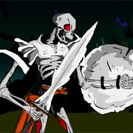 Skeleton King Ghost Land