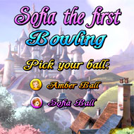 Sofia the First Bowling
