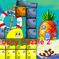 Spongebob Squarepants Jelly Puzzle 2